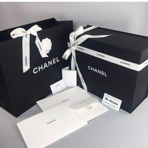 Chanel Magnetic Purse Box Empty Gift Set Medium